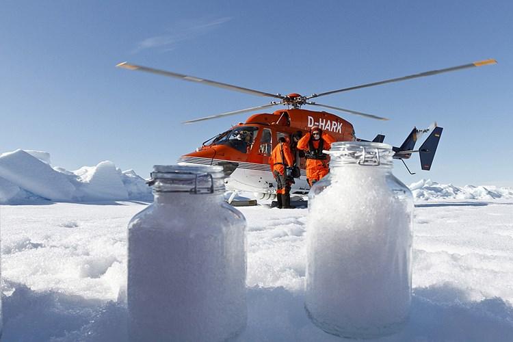 In der Arktis schneit es Plastik
