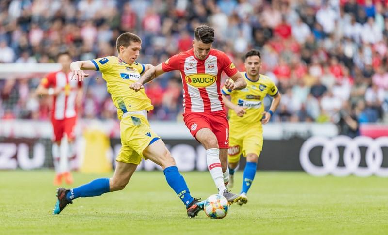 St. Pölten möchte gegen Red Bull Salzburg dagegenhalten