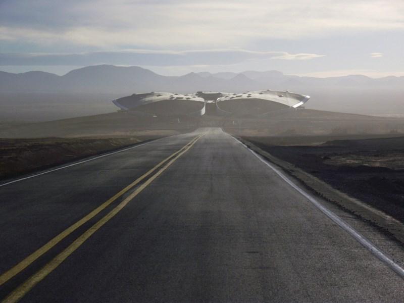 Unternehmen Virgin Galactic hat seinen Weltraumbahnhof fertiggestellt