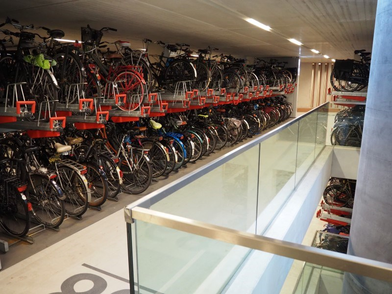 Größte Fahrradgarage der Welt in Utrecht fertiggestellt