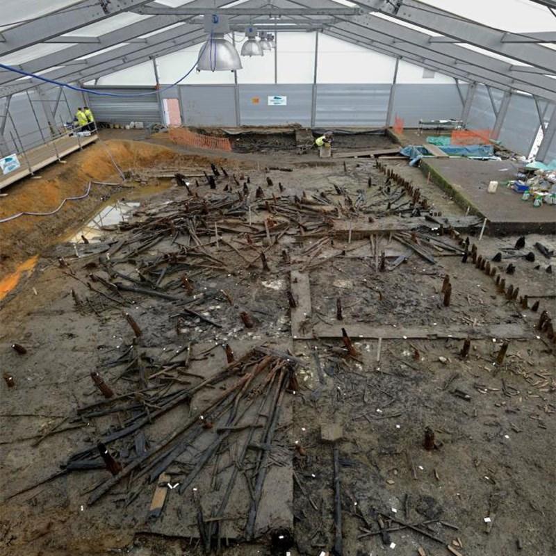 Bronzezeitliche Sumpfbewohner wurden von Würmern heimgesucht