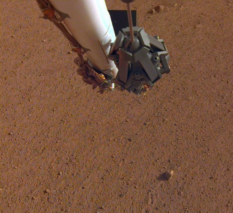 Stein auf dem Mars nach den Rolling Stones benannt