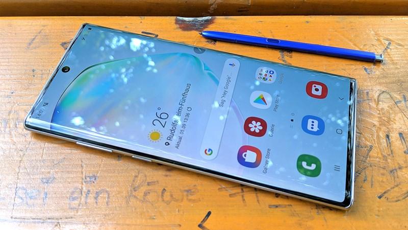Samsung Galaxy Note 10+ im Test: Großes Handy, kleiner Wurf