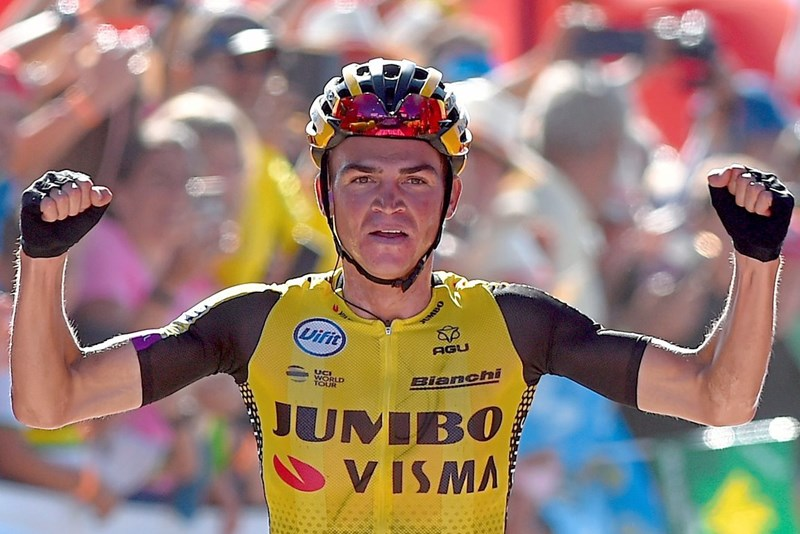 Roglic behält Rot, Teamkollege Kuss gewinnt Vuelta-Bergetappe