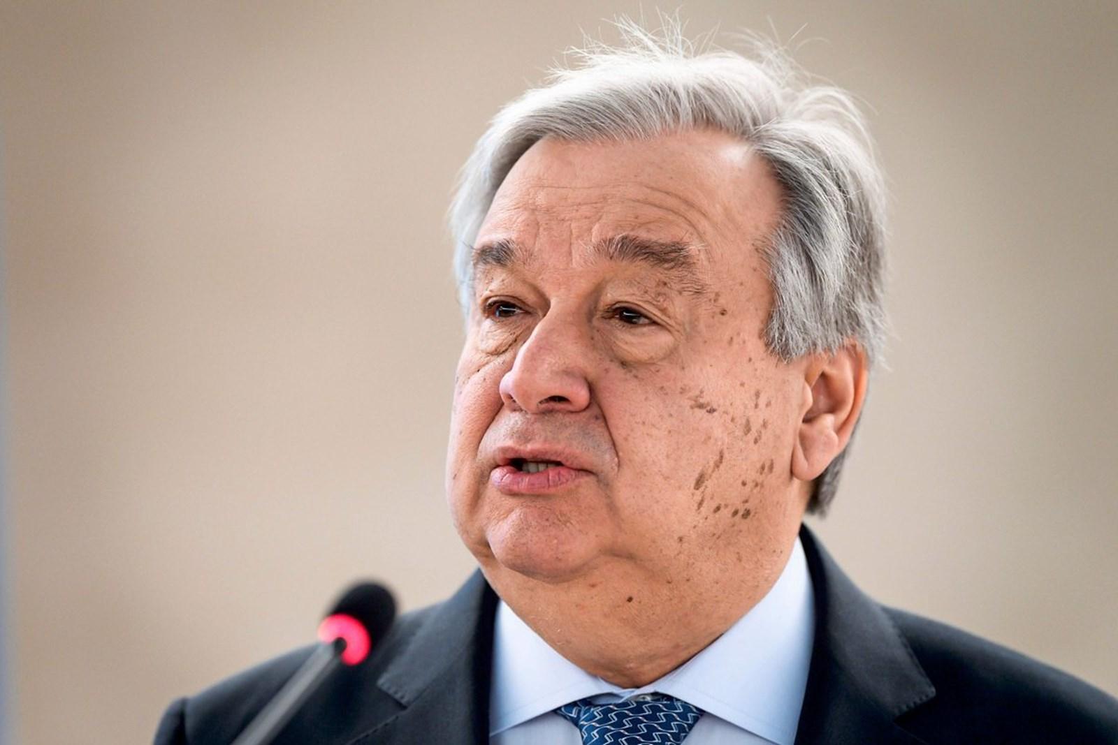 UN-Chef Guterres sieht Nazi-Ideologie auf dem Vormarsch – derStandard.de