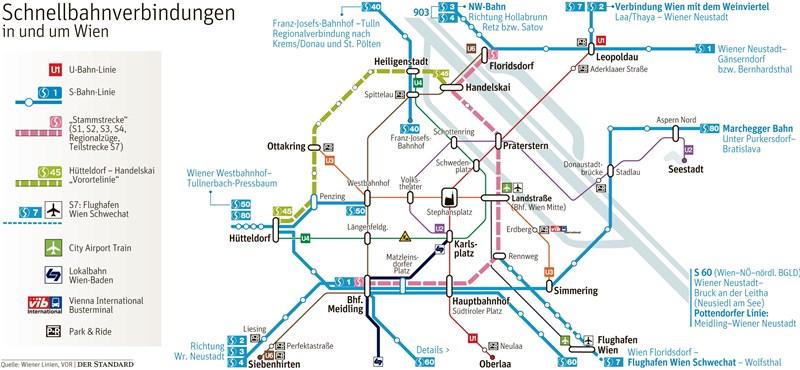 Niederösterreich Fordert Neue S Bahn Strecke Durch Wien
