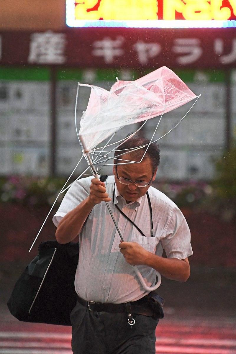 Wider den japanischen Wegwerfschirm