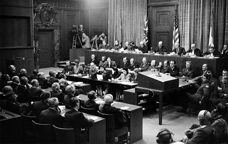 Nürnberger Kriegsverbrecherprozess: Für das ewige Gedächtnis
