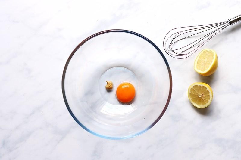 Rezept: Waldorf Salat mit selbst gemachter Mayonnaise