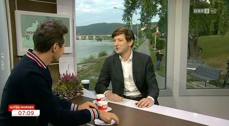 Guten Morgen österreich Auf Orf 2 Morgendliches Erholungs