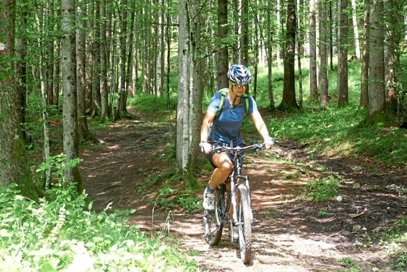 Mit dem Mountainbike am Nordrand des Toten Gebirge