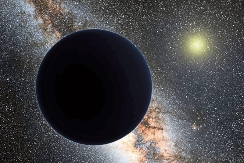 """Ist """"Planet Neun"""" ein Schwarzes Loch?"""