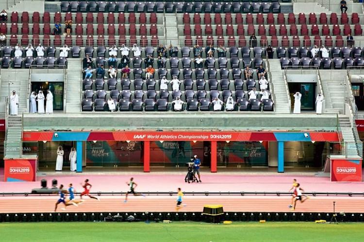 Katarstimmung Bei Leichtathletik Wm Leichtathletik