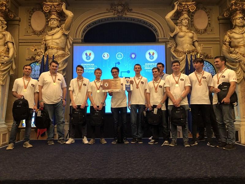 Österreich wurde Dritter bei Hacker-Nachwuchs-Europameisterschaft