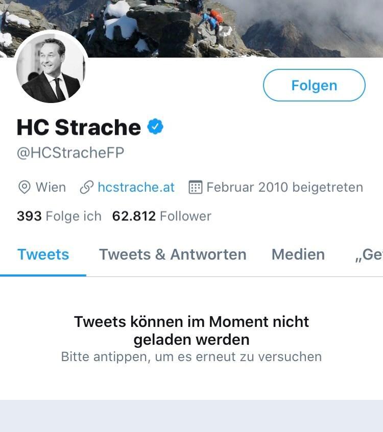 Twitter Strache