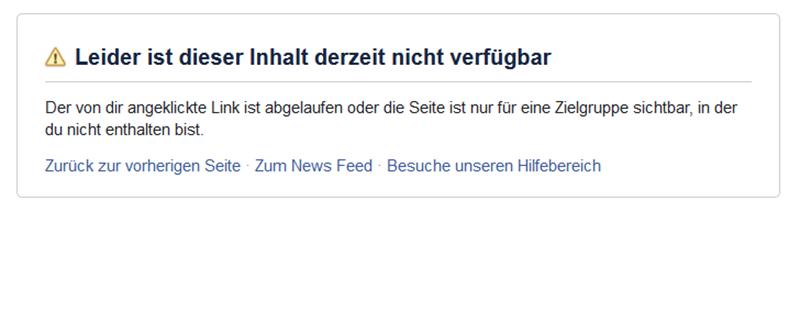 "Facebook hat rechtsextreme Seite ""Info-Direkt"" gesperrt"