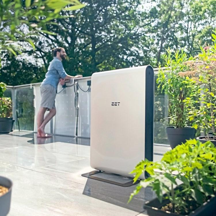 Effizientes Design: Kleines Sonnenkraft für den eigenen Balkon