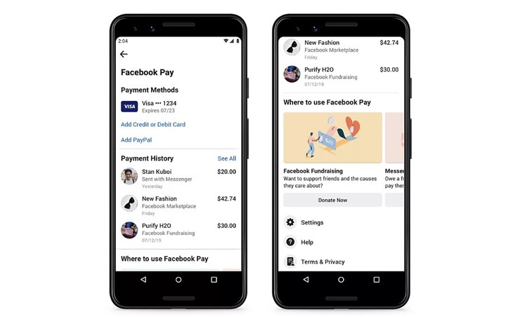 Facebook Pay: Neuer Bezahldienst für Facebook, Whatsapp und Instagram startet