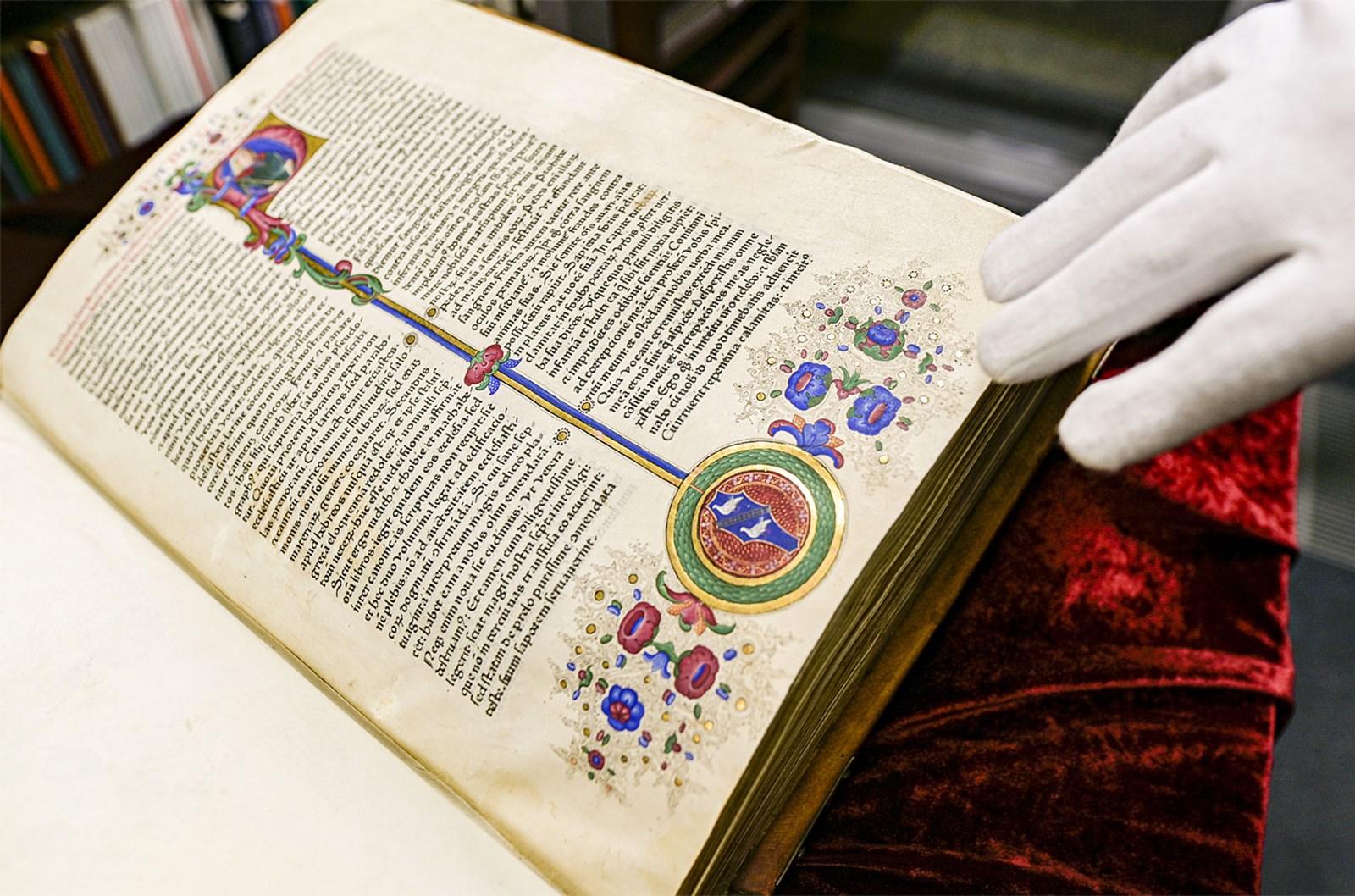 Fust-Schöffer-Bibel aus der Werkstatt Gutenbergs wechselte den Besitzer