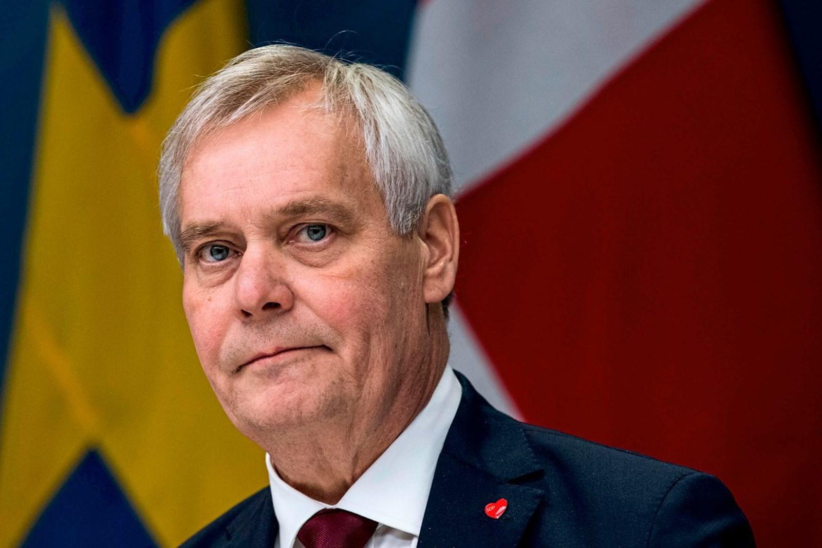 Finnischer Ministerpräsident Rinne ist zurückgetreten