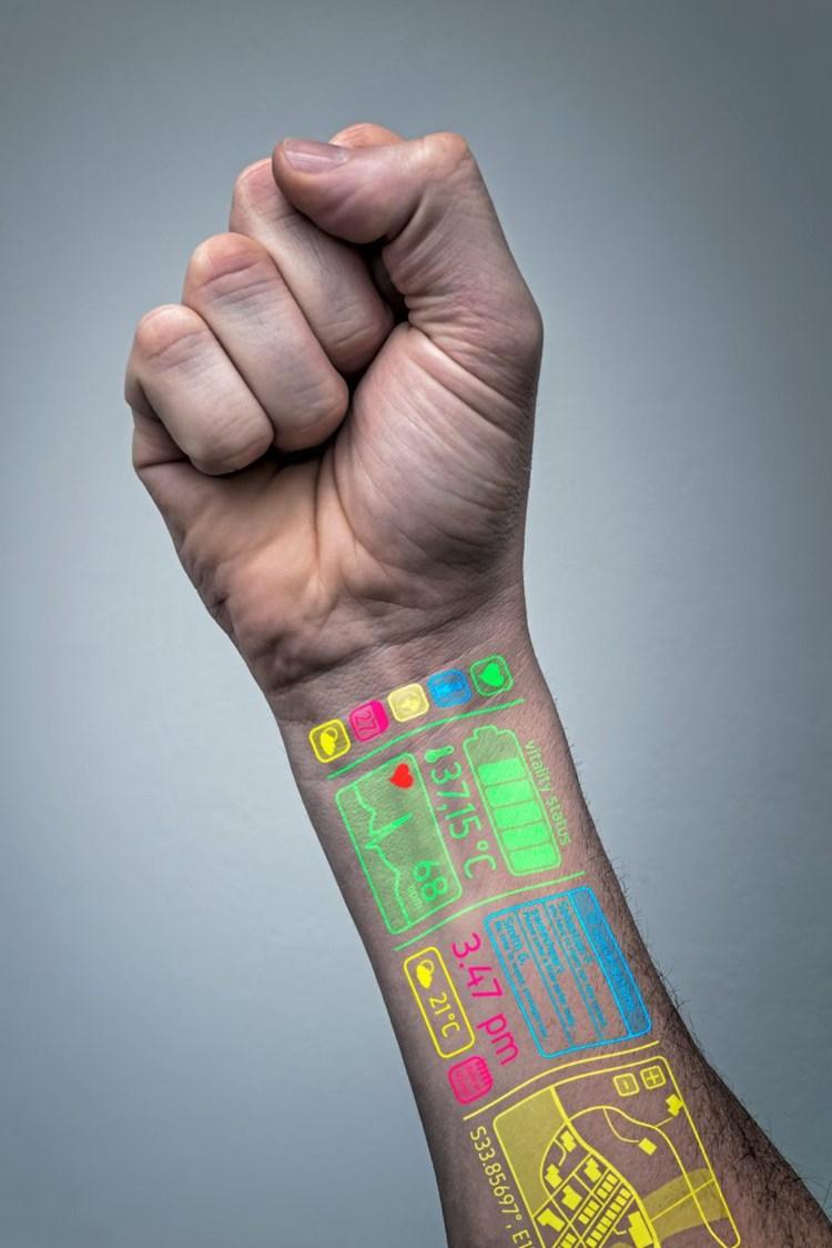 Sensoren für die künstliche Haut