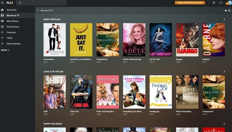 Kein Netflix, aber gratis: Plex startet kostenlosen Streaming-Dienst