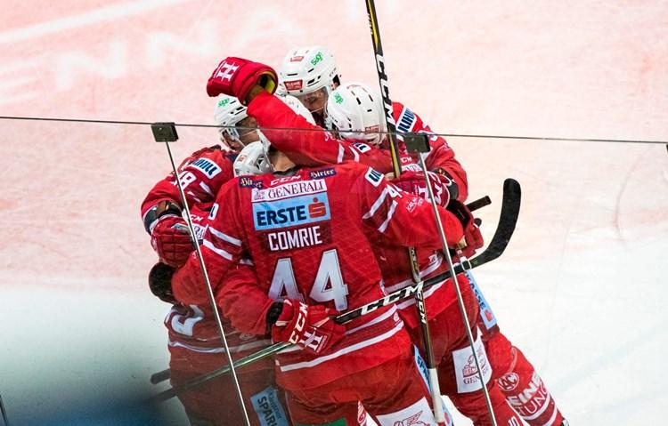 KAC fixiert Sieg gegen Salzburg spät
