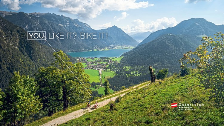 """You like it? Bike it!""-Kampagne für Österreich-Werbung ""Erfolgsstory"""