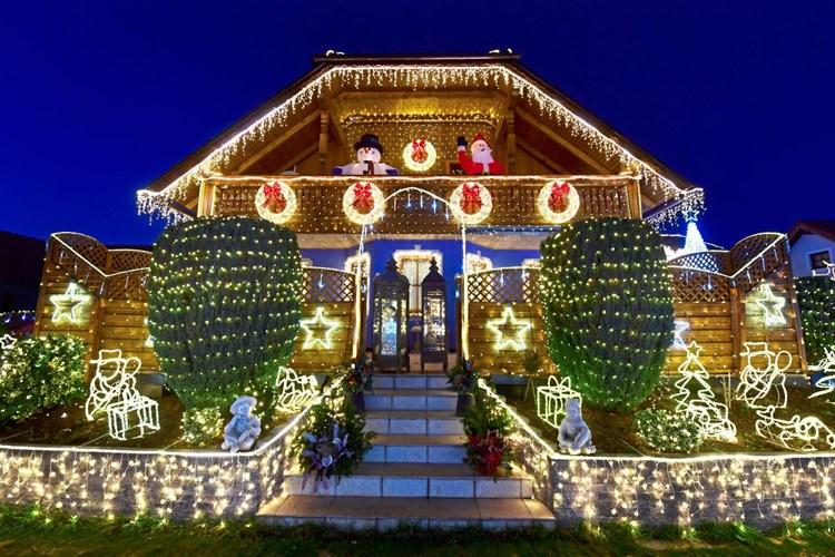 Die Glücklichmacher: 166.277 LED-Lichter für die Weihnachtsdeko