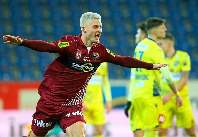 3:0 in St. Pölten: Dritter Altach-Sieg in Folge