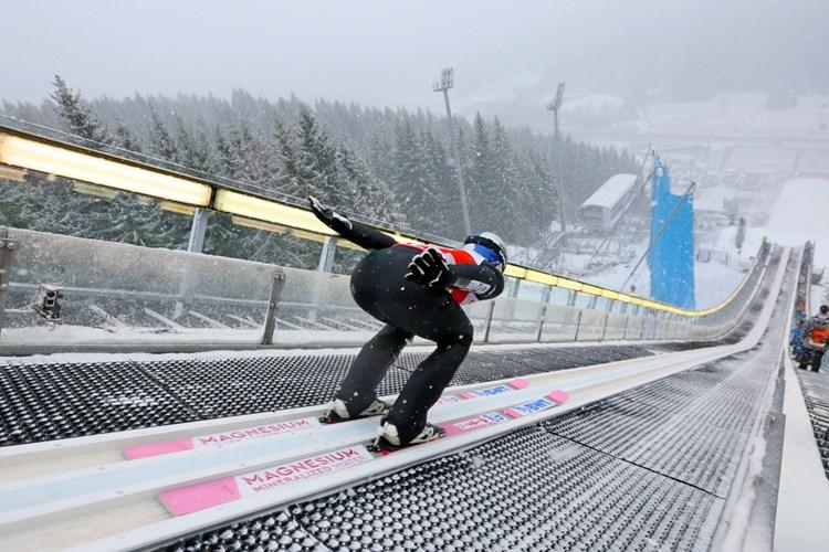 Skispringen Team