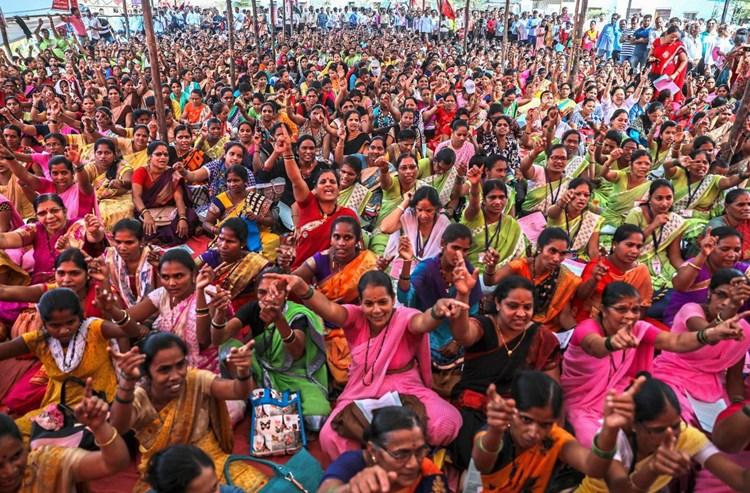 Streik gegen Privatisierungen in mehreren indischen Städten