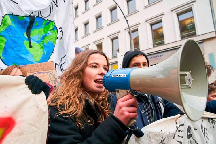 """""""Deutsche Greta"""" als Schrecken der Mächtigen"""