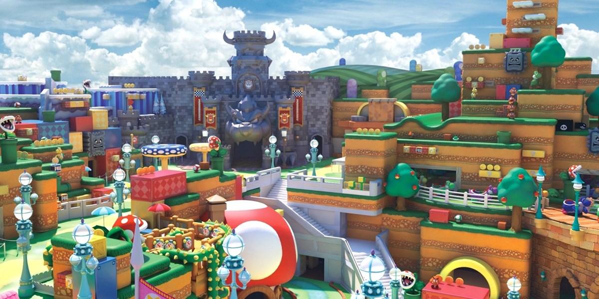 """Super Nintendo World"""": In Japan entsteht ein riesiger Nintendo ..."""