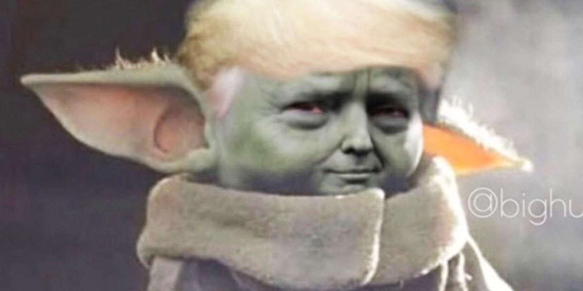 The Magalorian Trump Fans Basteln Nun Memes Mit Baby Yoda