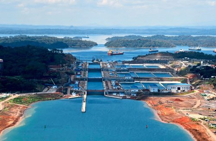 Der Panamakanal trocknet aus