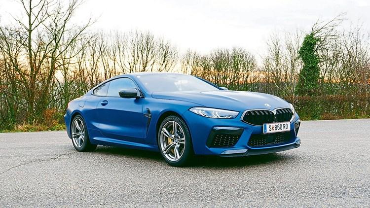 BMW M8 Coupé: Wenn der Wagen eskaliert