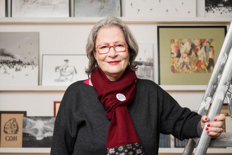 Susanne Scholl: Oma, die radikal gegen Rassismus und Hetze spricht
