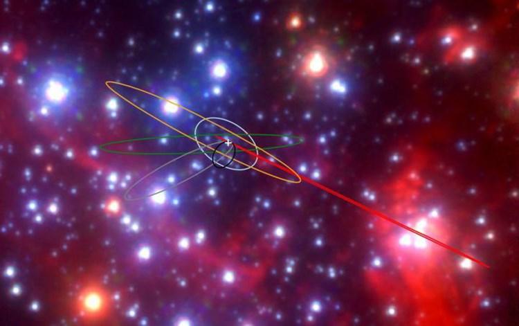 Im Milchstraßenzentrum tummeln sich bizarre Objekte