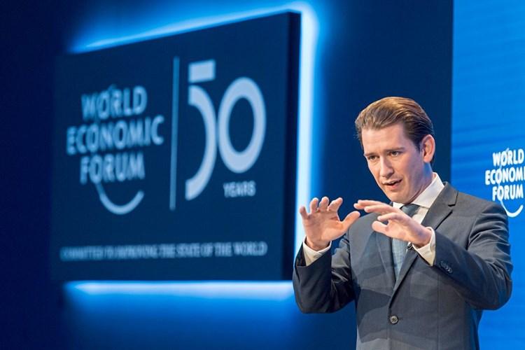 Kurz warnt in Davos vor Comeback des Kollektivismus