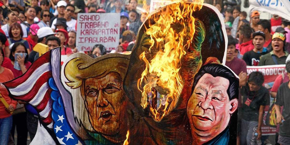 """Trump: Stopp von Militärabkommen mit Philippinen """"ist mir wirklich egal"""""""