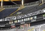 Leere Ränge: Frankfurt-Fans protestieren gegen Zerstückelung von Spieltagen