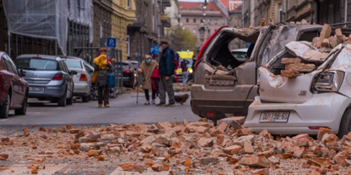 Erdbeben erschüttern Zagreb: Verletzte und schwere Schäden ...