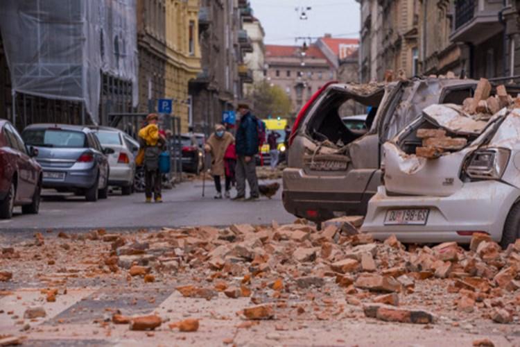 Erdbeben Erschuttern Zagreb Verletzte Und Schwere Schaden Weltchronik Derstandard At Panorama