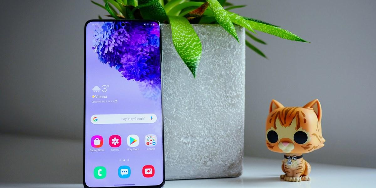 Samsung Galaxy S20+ im Test: Besser und billiger als das Ultra-Modell