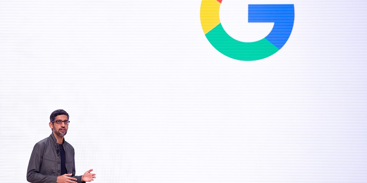 Aprilscherz Google