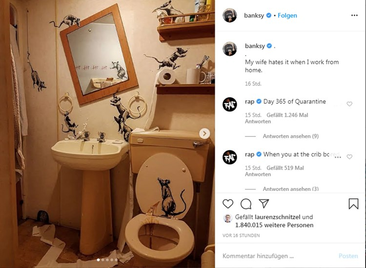 Banksy Home Office