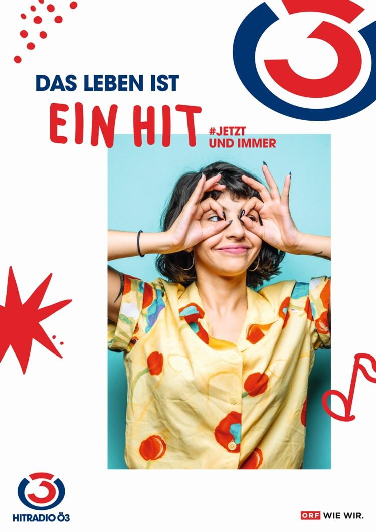 """JETZT und immer: Neue Ö3-Kampagne """"Das Leben ist ein Hit"""" startet ..."""