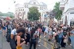 Demonstranten in Wien fordern Polizeireform