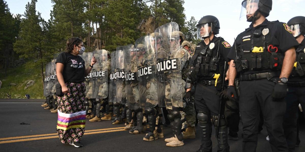 Schwieriger Abschied vom Stammesdenken bei der US-Polizei